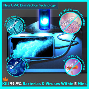 3W - UV-C Disinfectant Lights